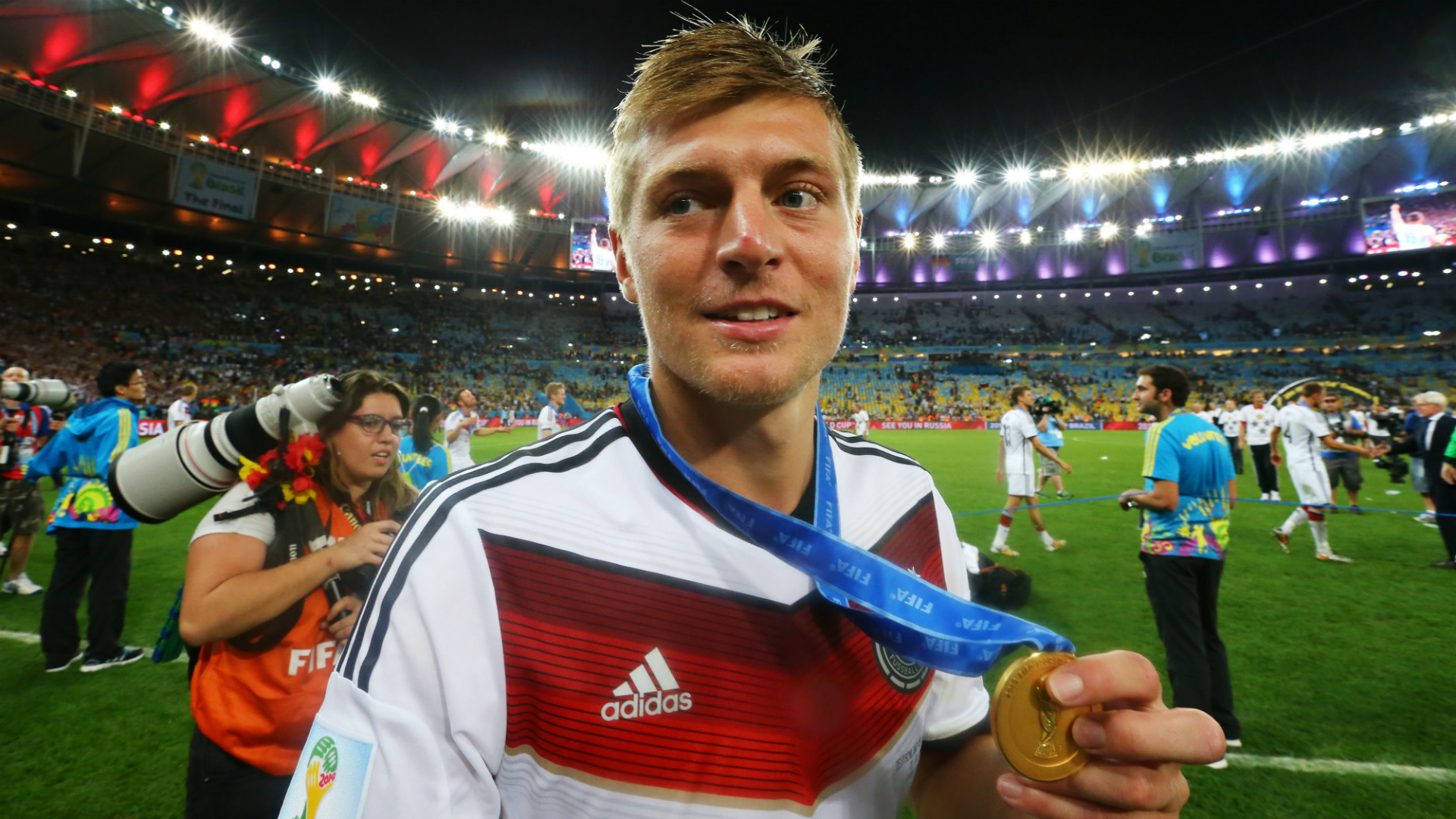 Toni Kroos Germany Argentina Fifa World Cup Brazil Final Hd Download Images