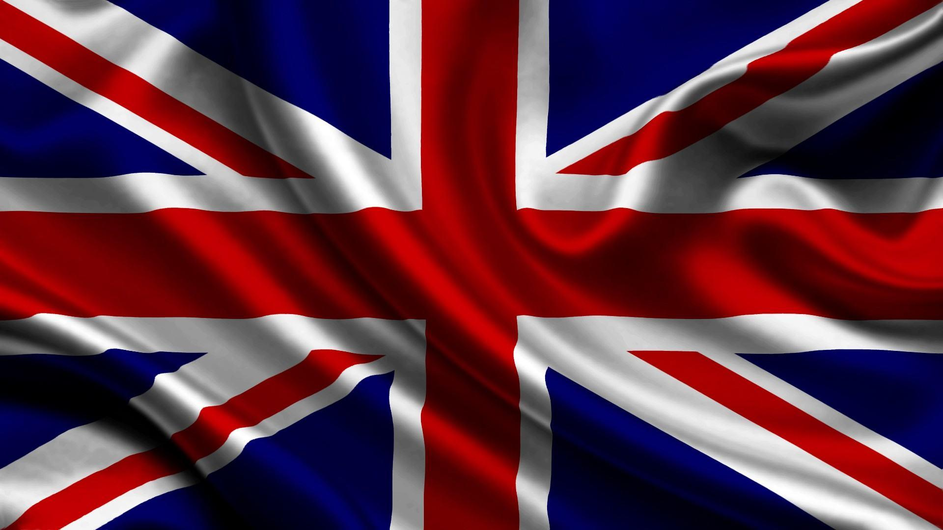waving union jack flag hd free wallpaper