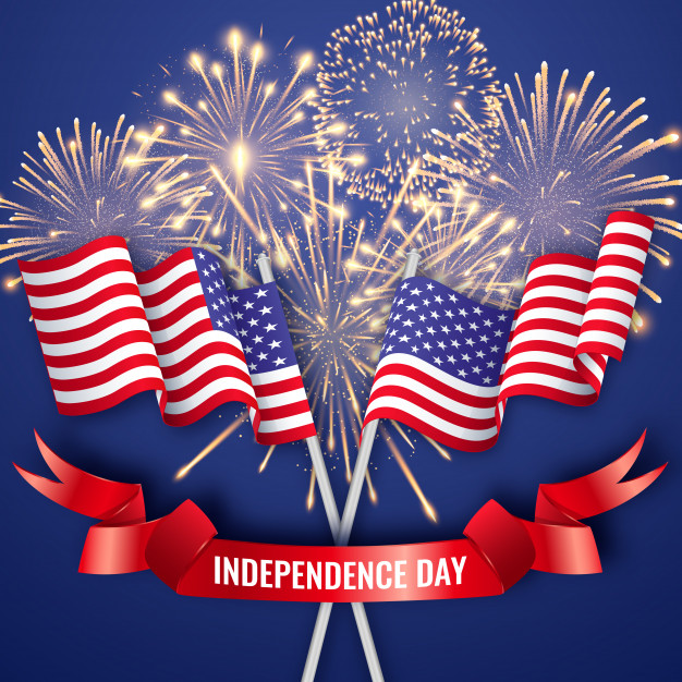 usa independence day american flags 4th july whatsapp