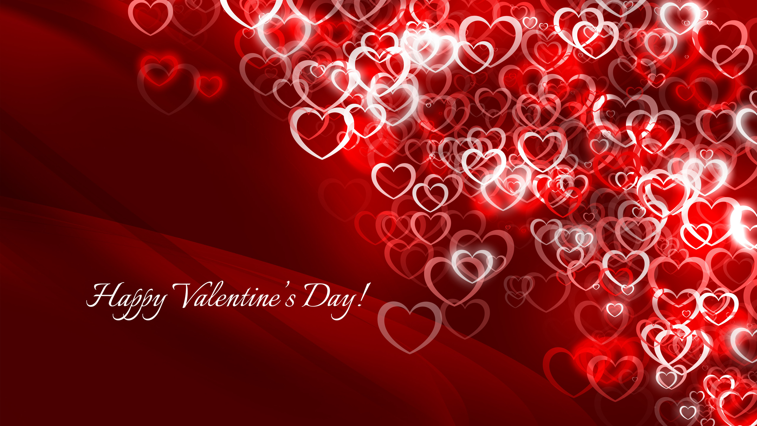 happy valentines day greeting free wallpaper