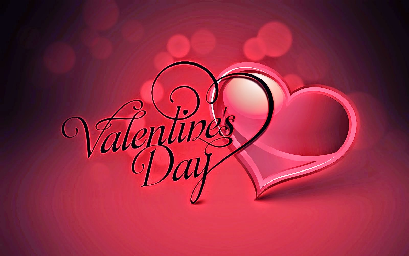 red desktop background happy valentines day hearts lovely dp photos 4k wallpaper