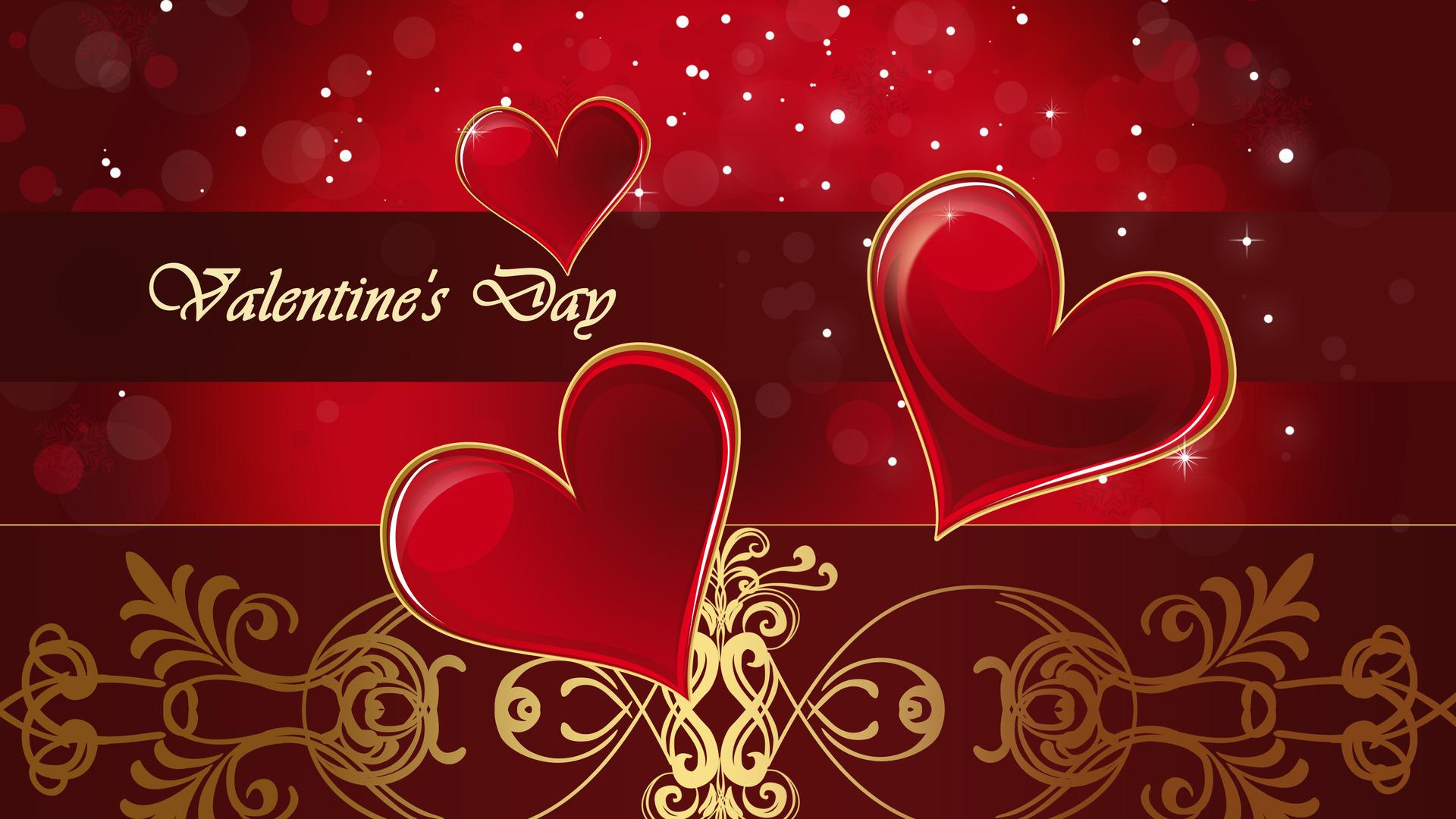 red fantastic hearts 4k valentines day hd wallpapers free download