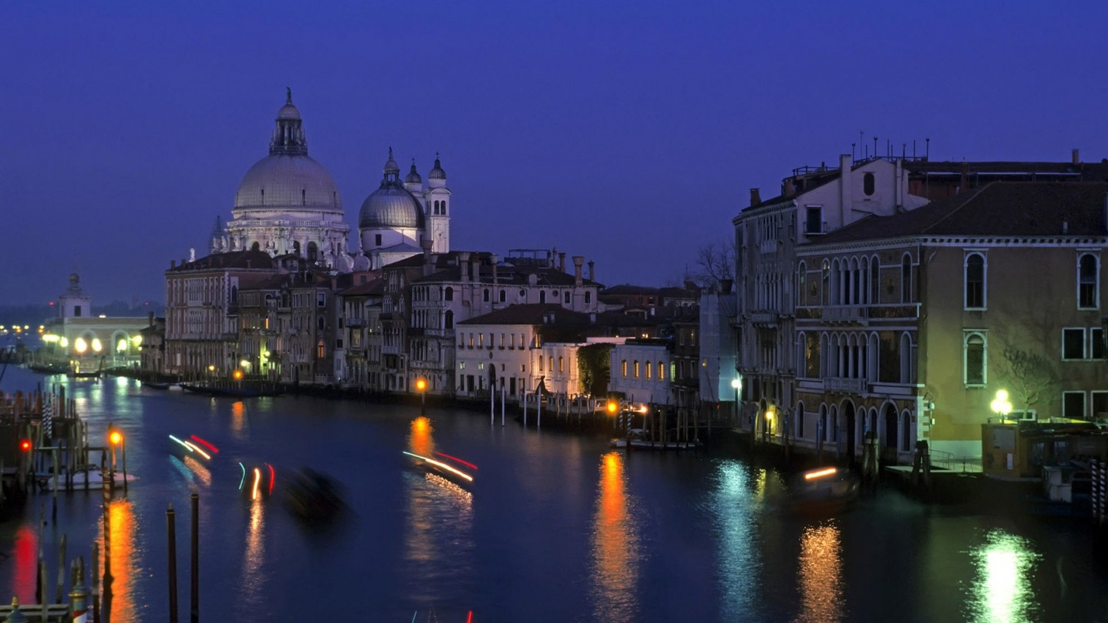 italy venice city at night wallpaper free stock images