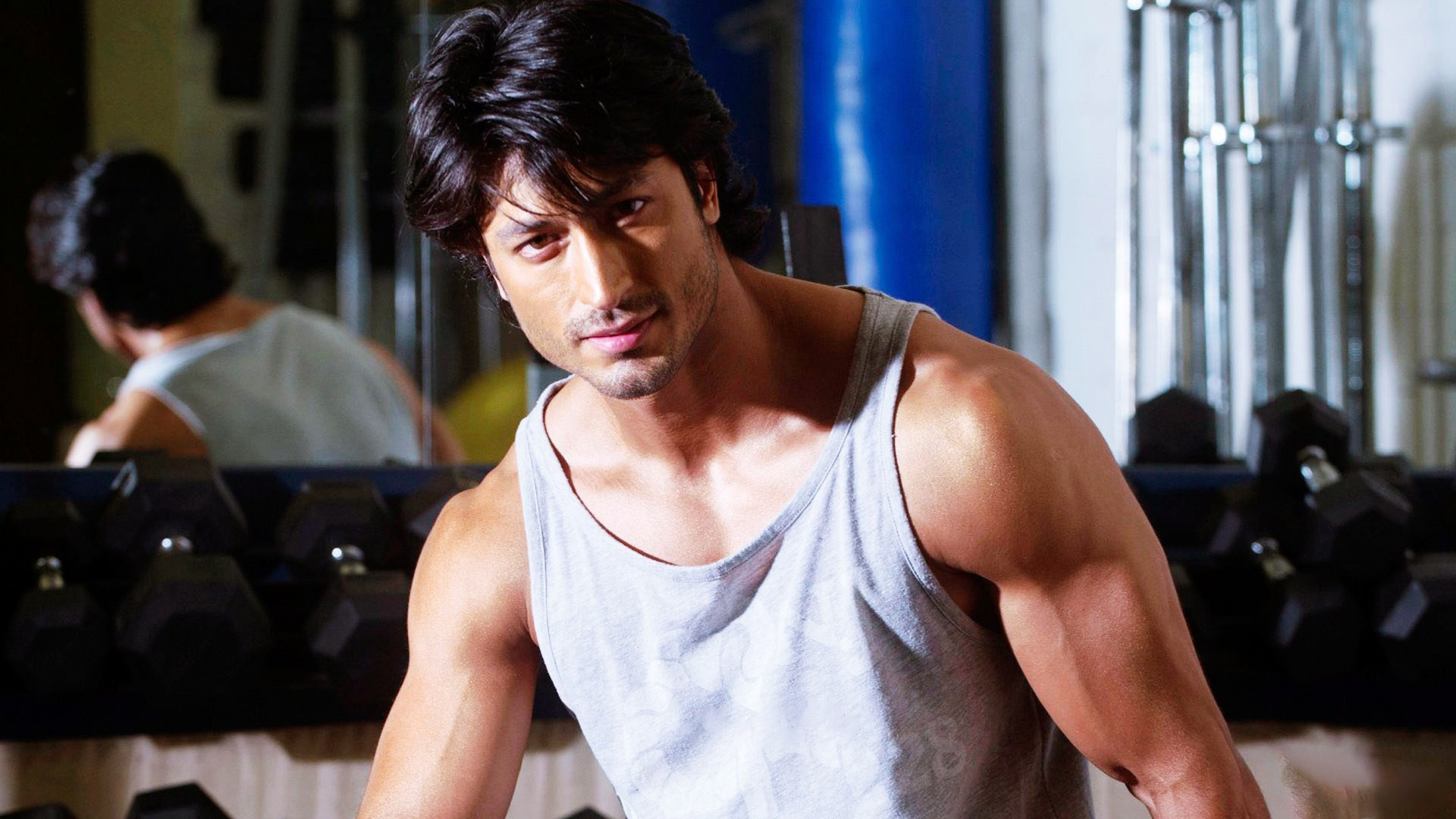 fantastic vidyut jamwal cute face free mobile background download hd images