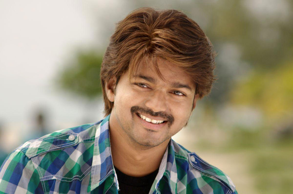 Fantastic Laughing Face Ilayathalapathi Vijay Mobile Desktop Download Wallpapers Images