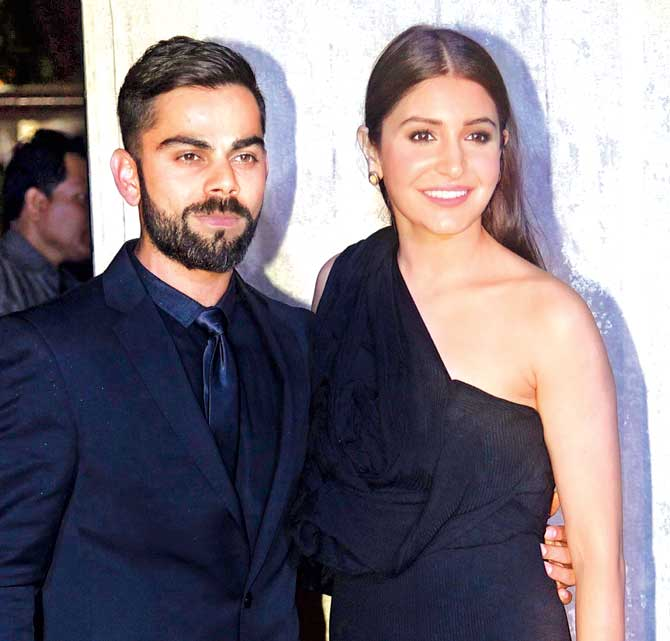 Anushka Sharma With Virat Kohli Hd Wallpapers