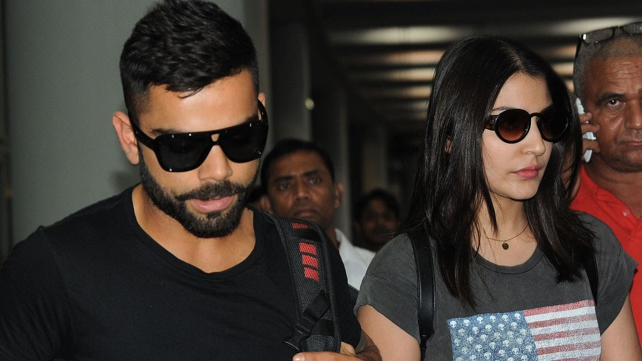 Virat Kohli With Anushka Sharma Image