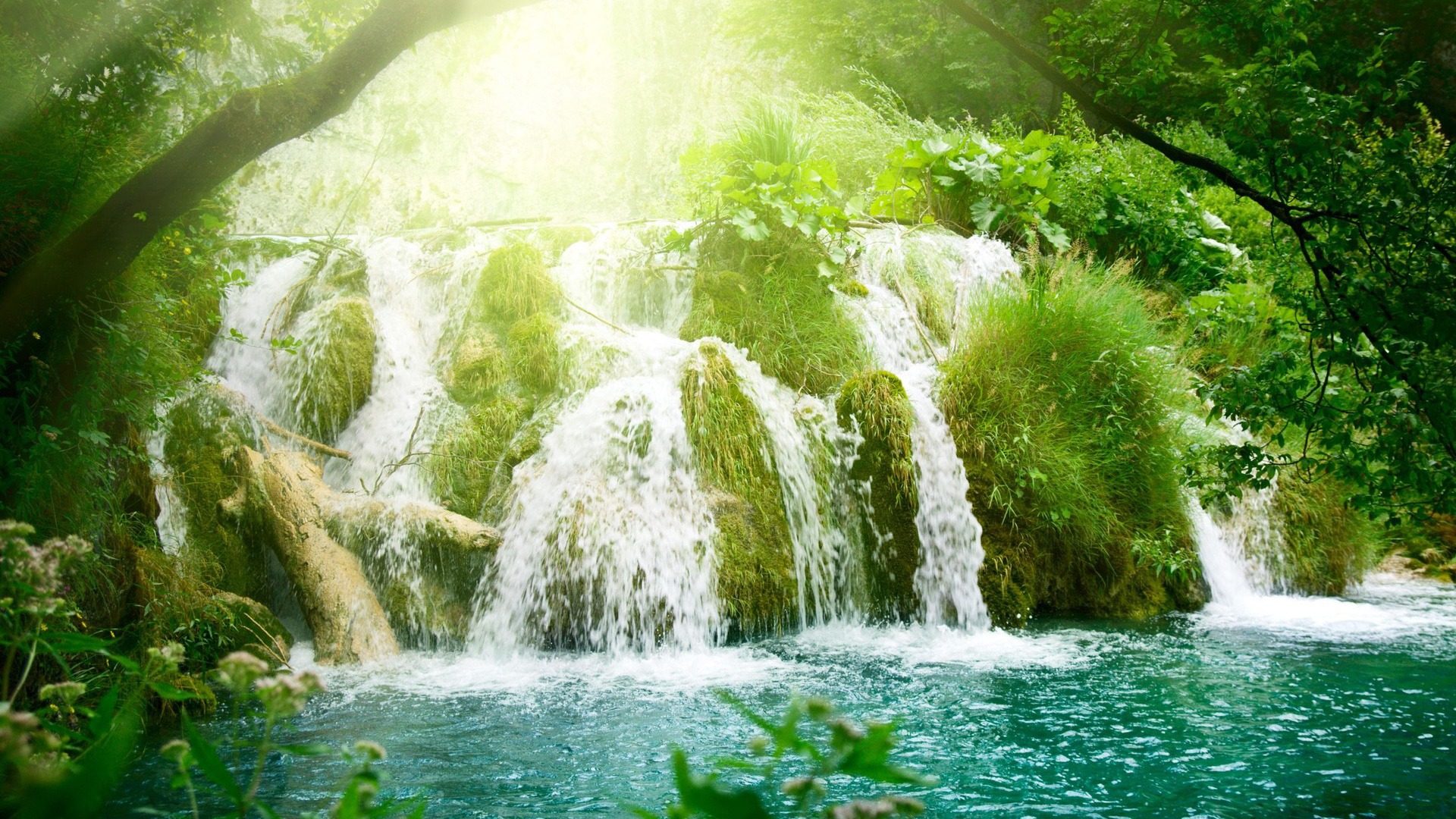 3d amazing waterfall wallpapers hd pictures download
