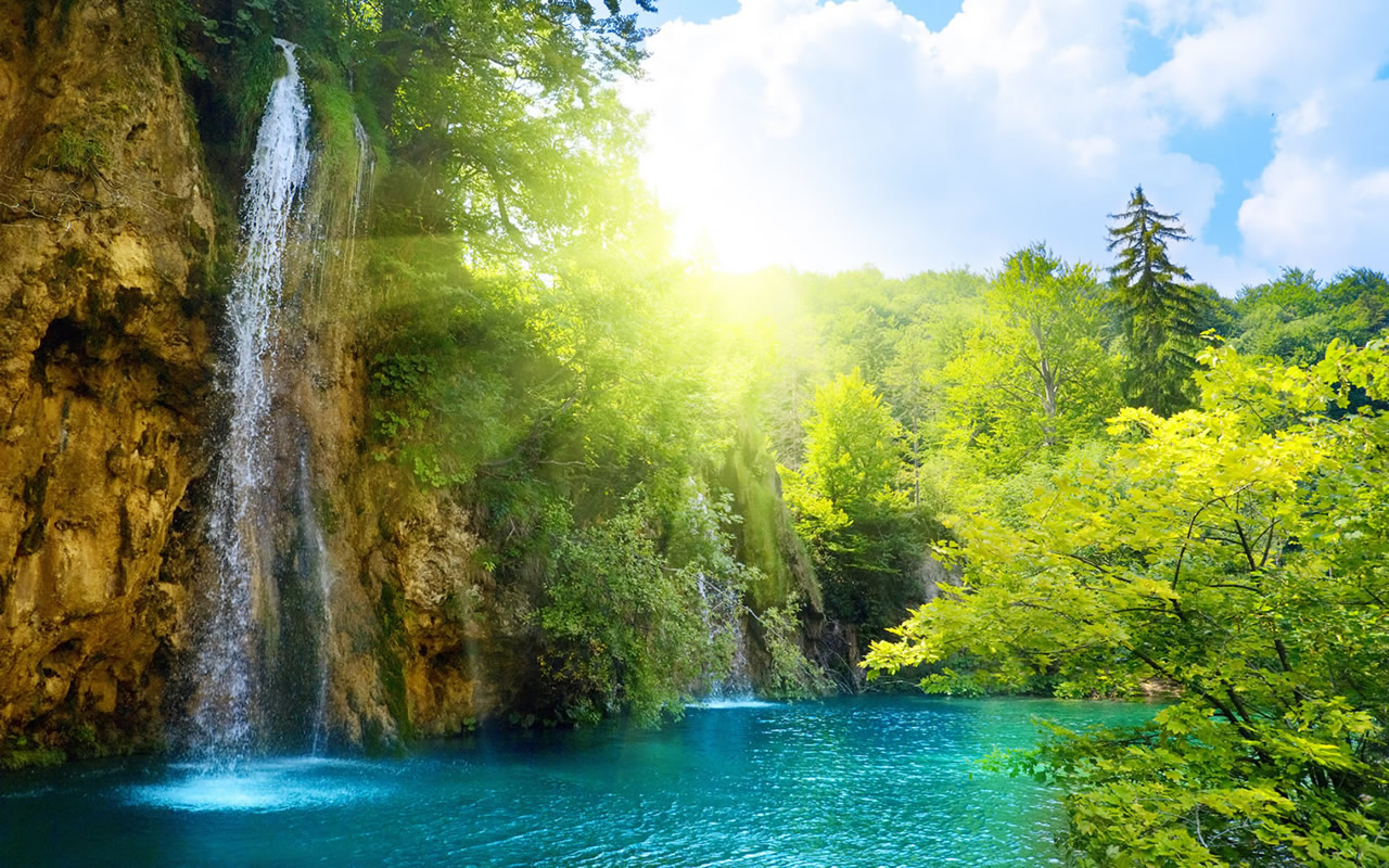 best desktop amazing waterfall hd wallpaper pictures
