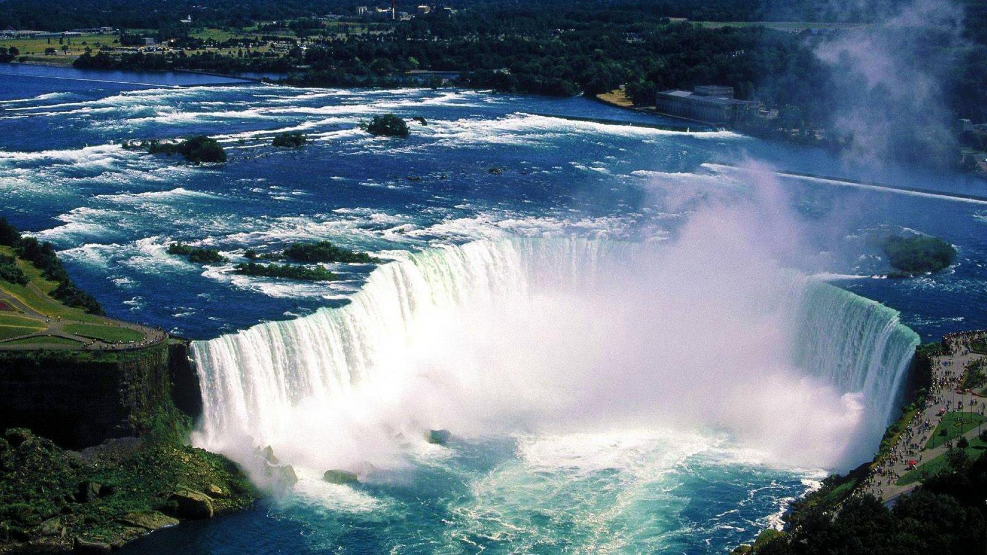 best high resoultion niagara waterfall hd wallpaper