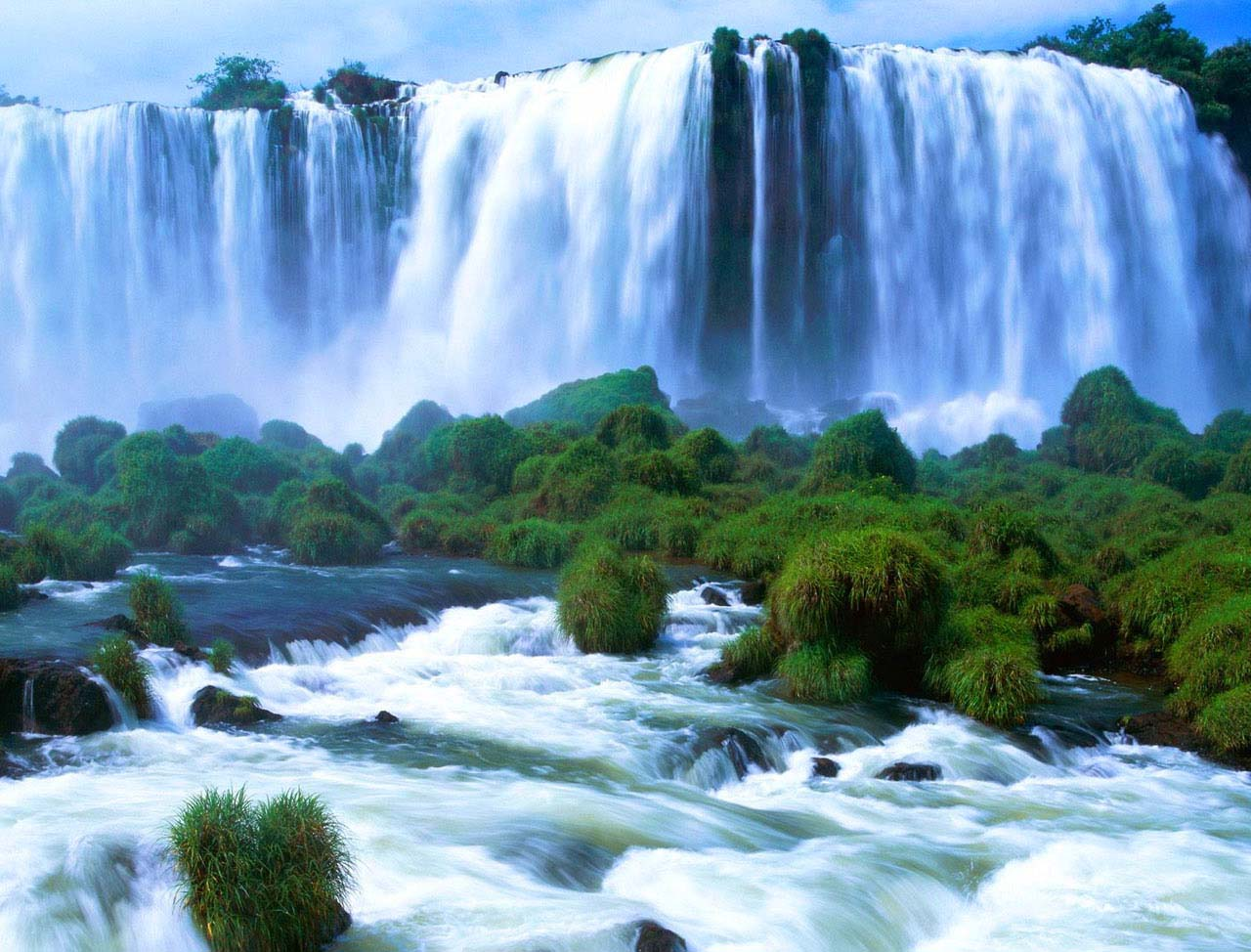 desktop hd beautiful waterfall wallpapers images free