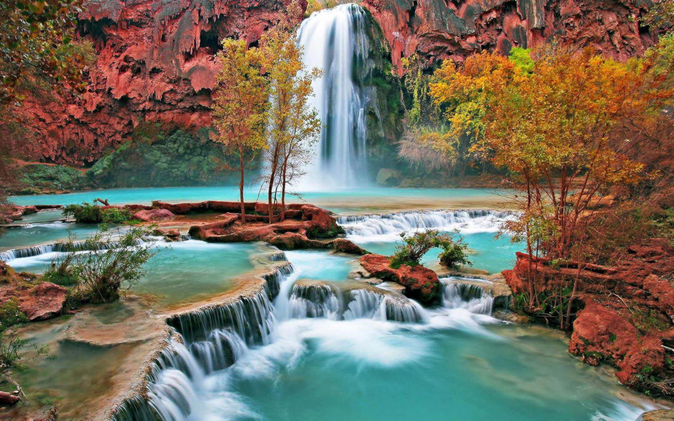 High Resoultion Free Waterfall Wallpapers Desktop Widescreen Images
