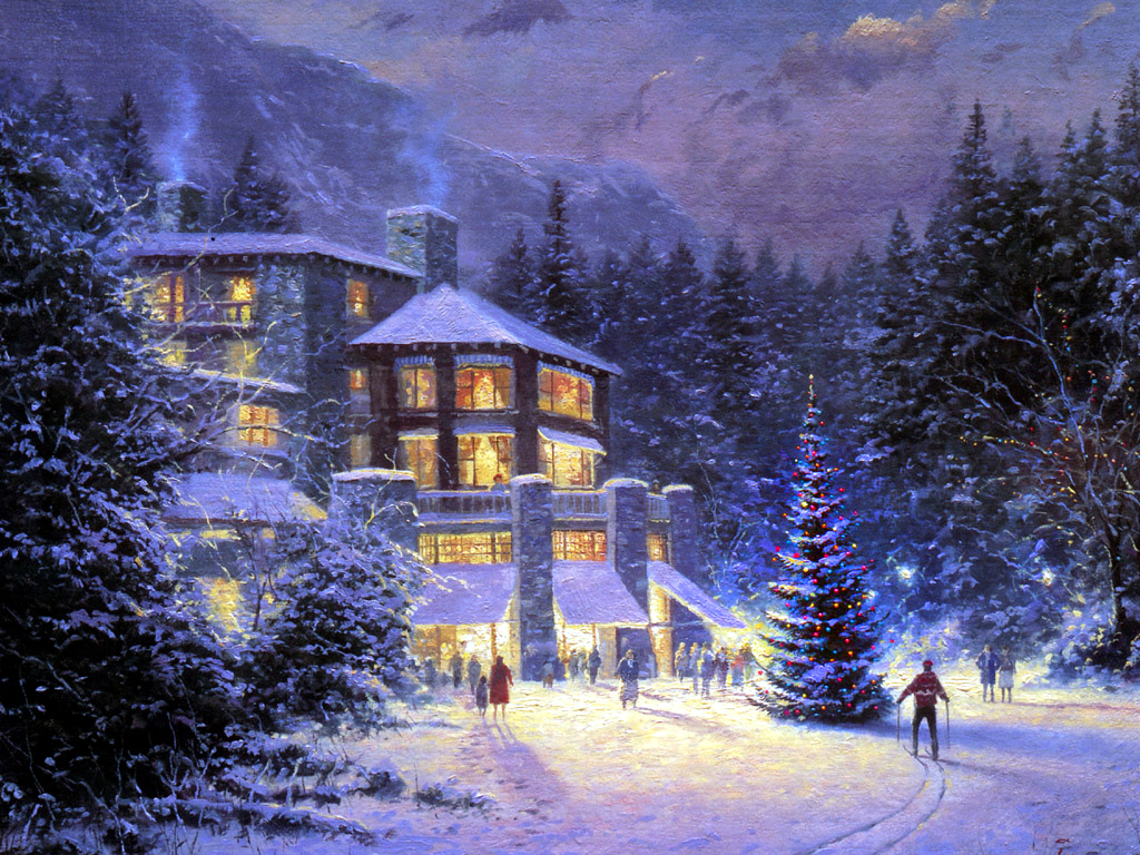 Lovely Place In Winter Hd Picture For Free Download