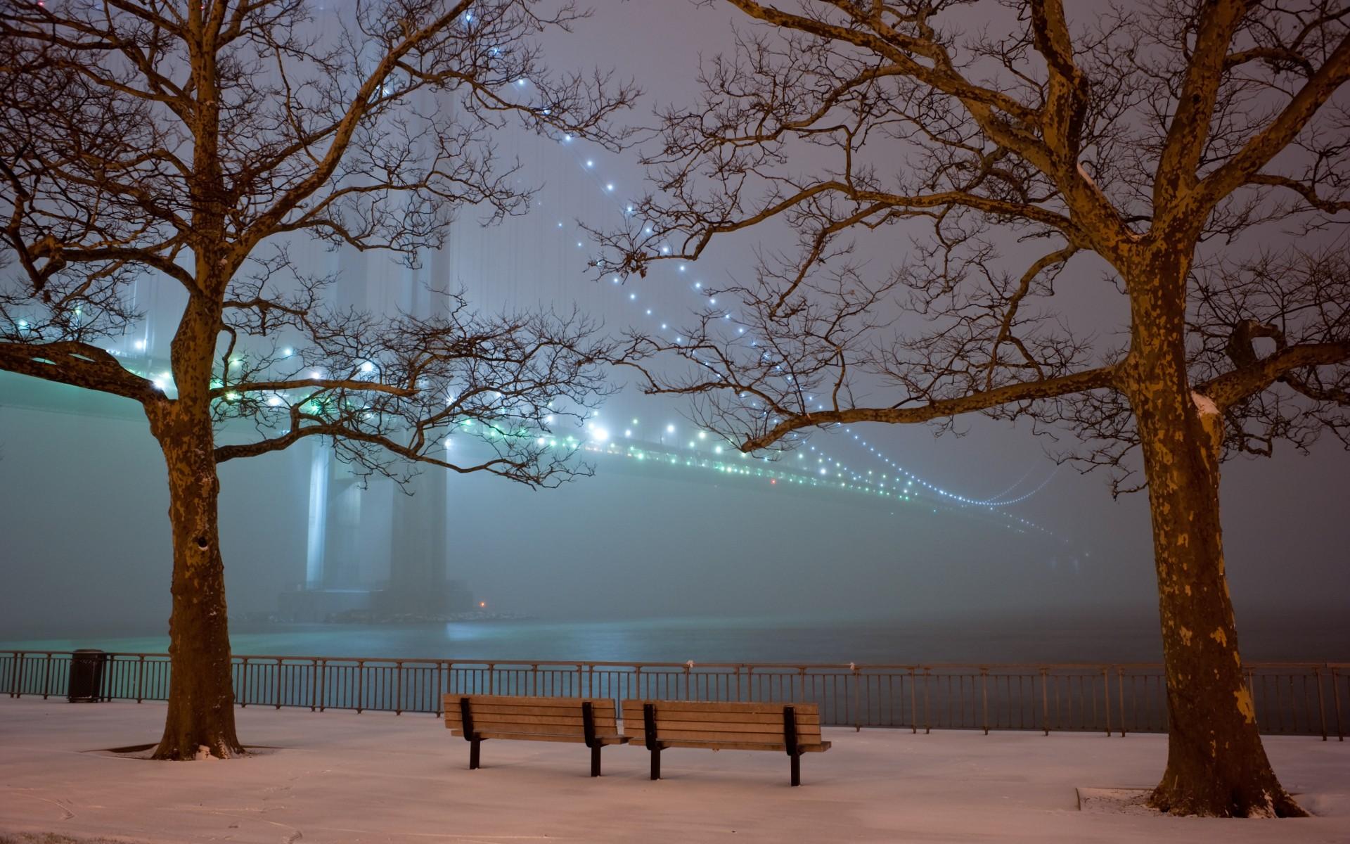 Romantic Winter Night Hd Wallpapers Desktop Picture