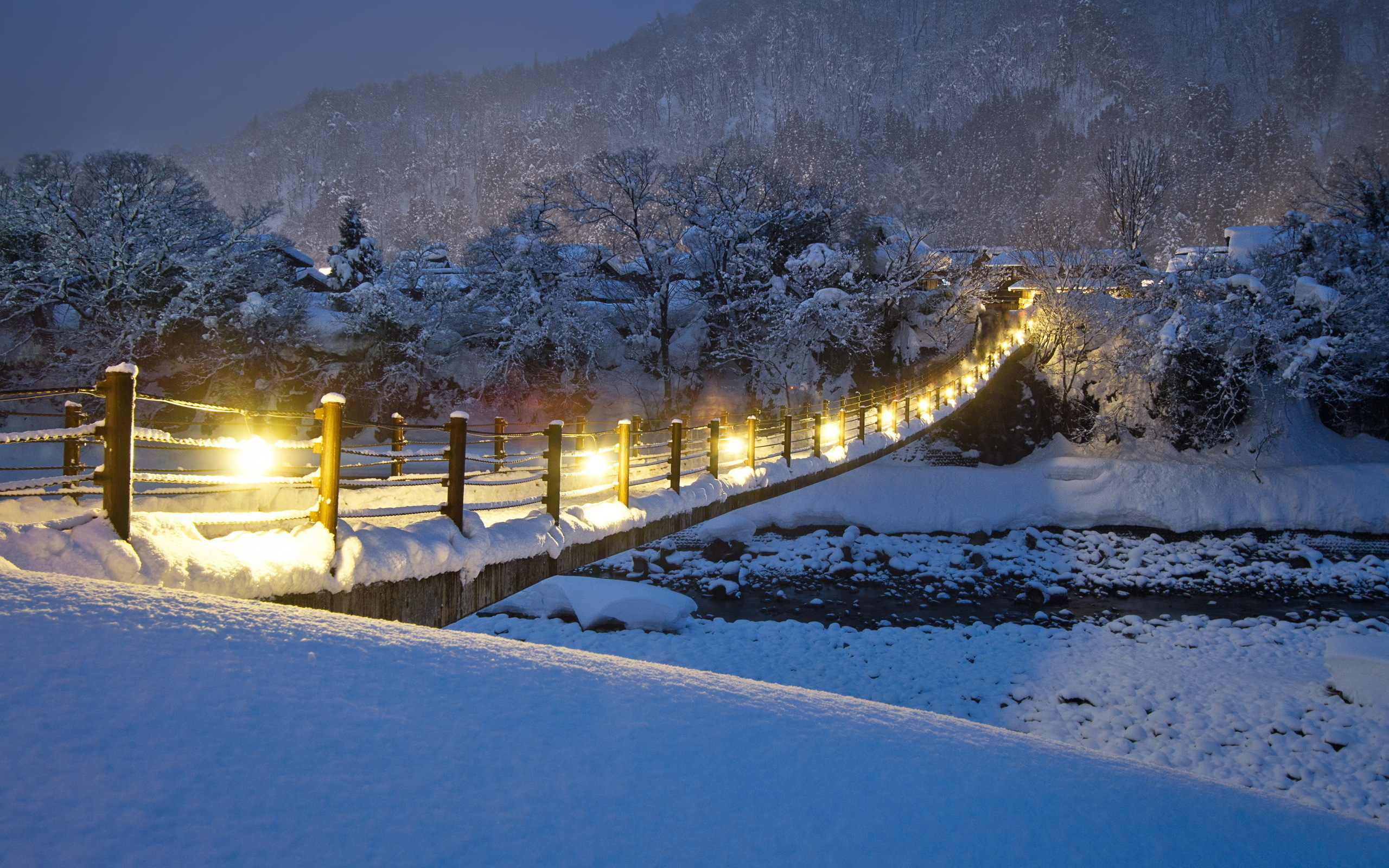 Popular Wallpaper Night High Resolution - winter-night-bridge-hd-wallpapers-picture-images-download-for-free  Pic-325593.jpg