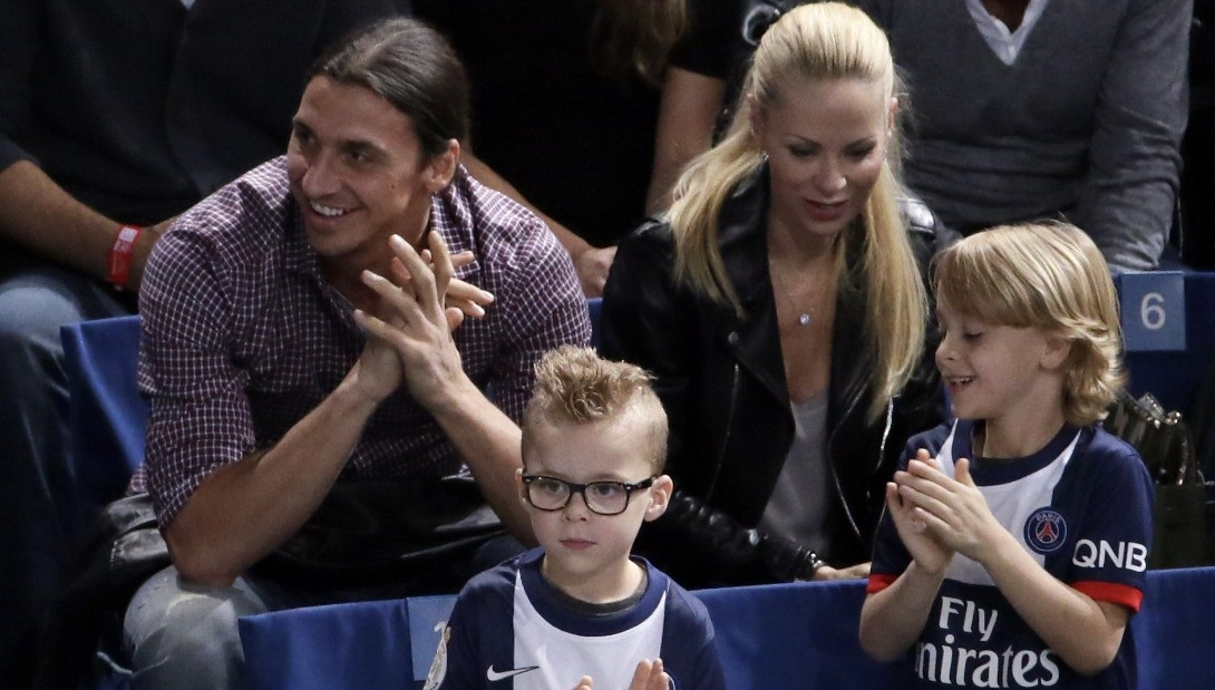 Beautiful Zlatan Ibrahimovic Family Mobile Desktop Pictures Hd