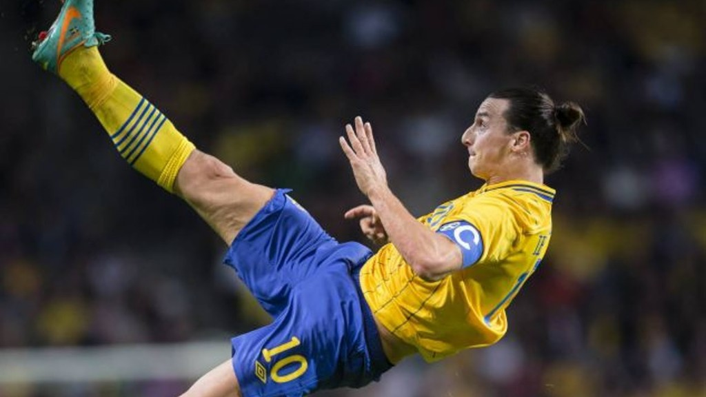 Best Zlatan Ibrahimovic Kick Ball Hd Mobile Desktop Images